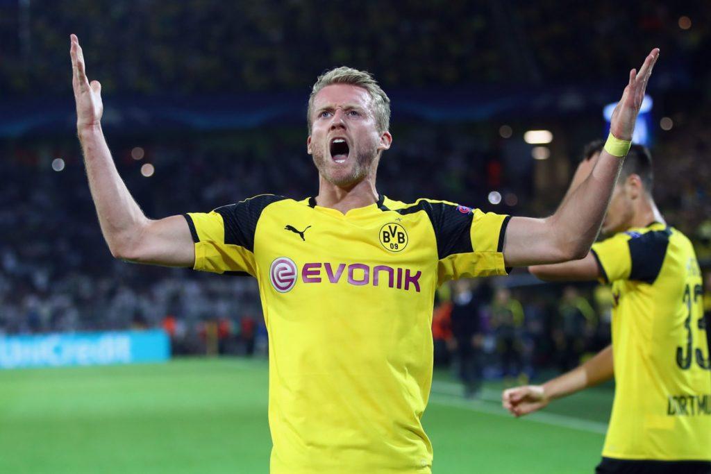 Diesen Jubel, wie hier beim 2:2 gegen Real Madrid in der Champions League, hätten sich die Fans von Borussia Dortmund wahrscheinlich häufiger von André Schürrle gewünscht..