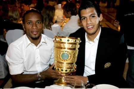 Pokalsieger mit dem FCB.