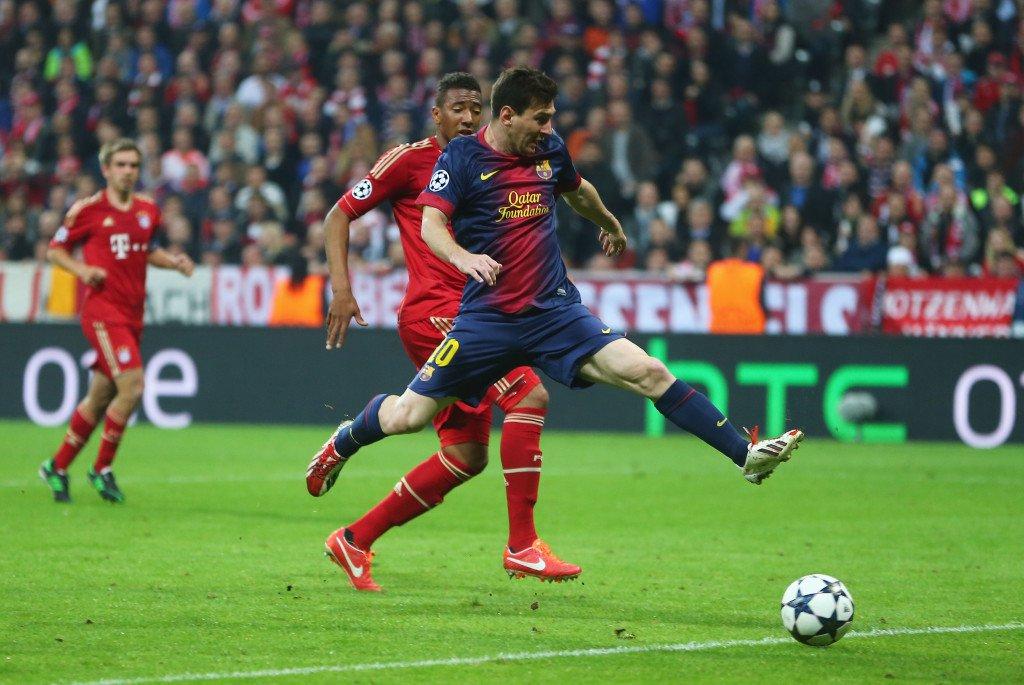 Leo Messi ist schneller als Jerome Boateng. Nicht immer (WM 2014), aber manchmal (UCL Halbfinale 2015) ©GettyImages