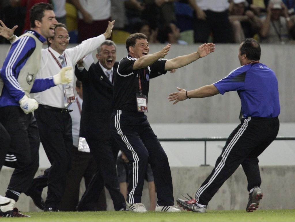Griechenland unter Otto Rehhagel - Das One Hit Wonder der Nationalteams © Getty Images)
