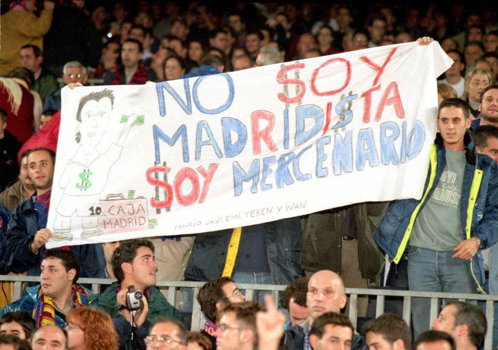 """Ein Wechsel zum """"falschen"""" Verein kommt in Spanien eher schlecht an; Foto: Getty Images"""