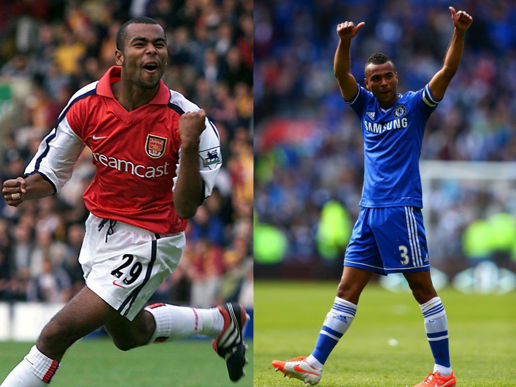 Ashley Cole (Arsenal zu Chelsea) – Wechselposse vom Feinsten. Foto: Getty Images