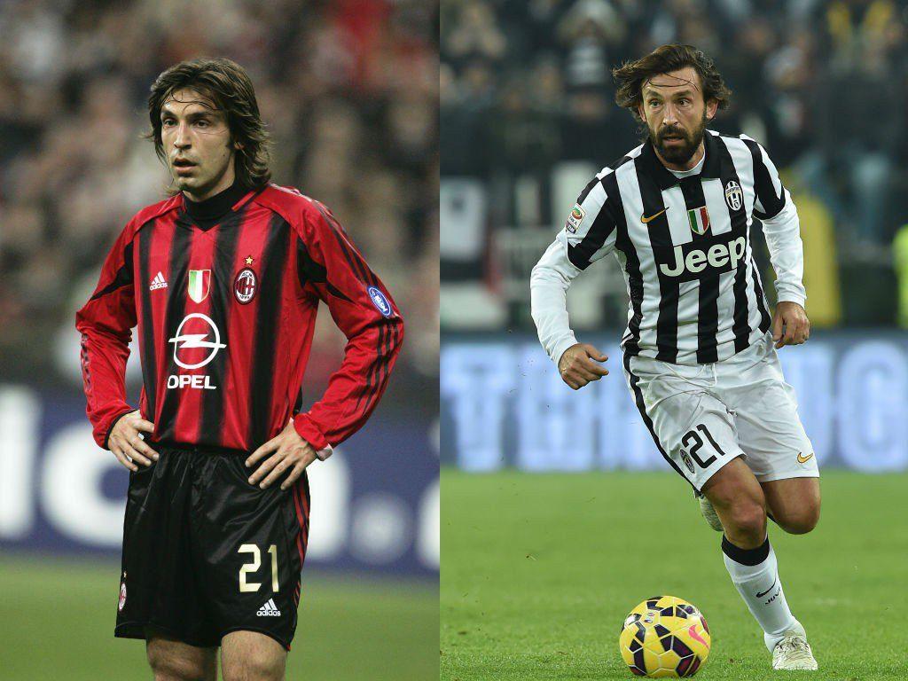 Andrea Pirlo (Inter Mailand, AC Mailand, Juventus Turin) – italienischer Maestro mit 3 Leben. Foto: Getty Images