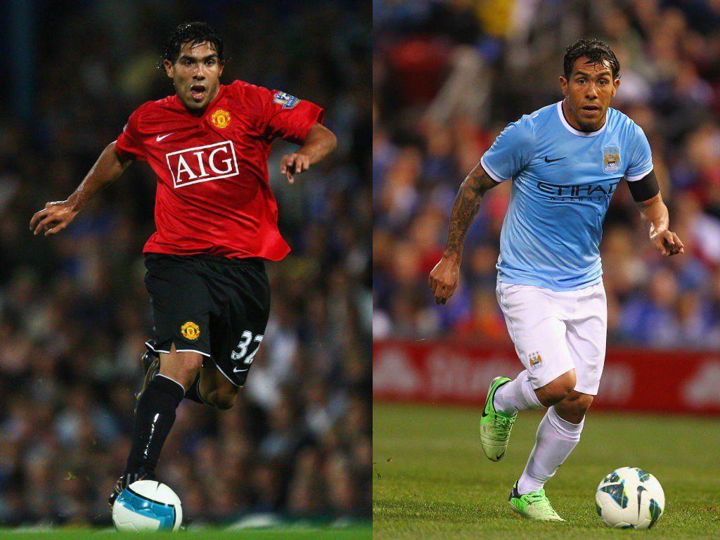 Carlos Tevez (Manchester United zu Manchester City) – Aus Trotz zum Rivalen. Foto: Getty Images