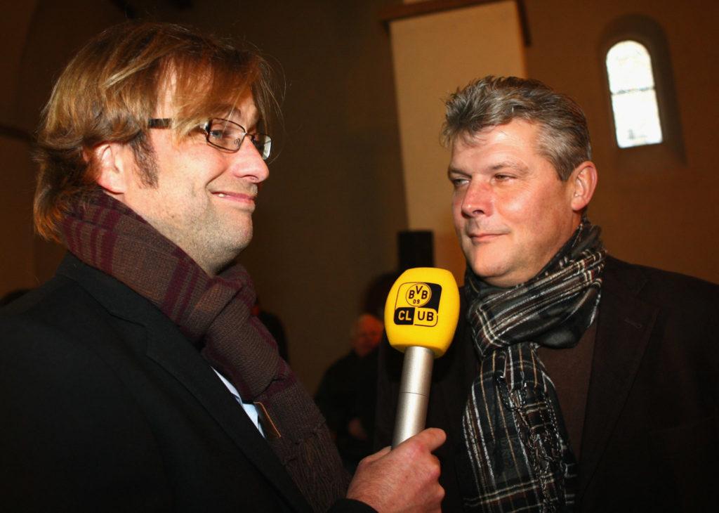 Jürgen Klopp und Norbert Dickel im Jahr 2009.
