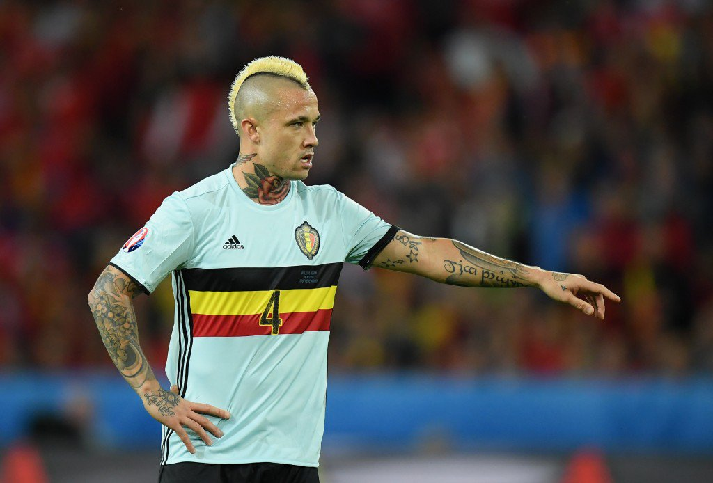 LILLE, FRANCE - JULY 01: Radja Nainggolan of Belgium in action during the UEFA EURO 2016 quarter final match between Wales and Belgium at Stade Pierre-Mauroy on July 1, 2016 in Lille, France. (Photo by Matthias Hangst/Getty Images)