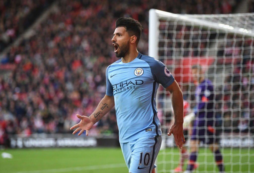 Sergio Aguero ist aus dem Team von Manchester City nicht mehr wegzudenken. Foto: Getty Images