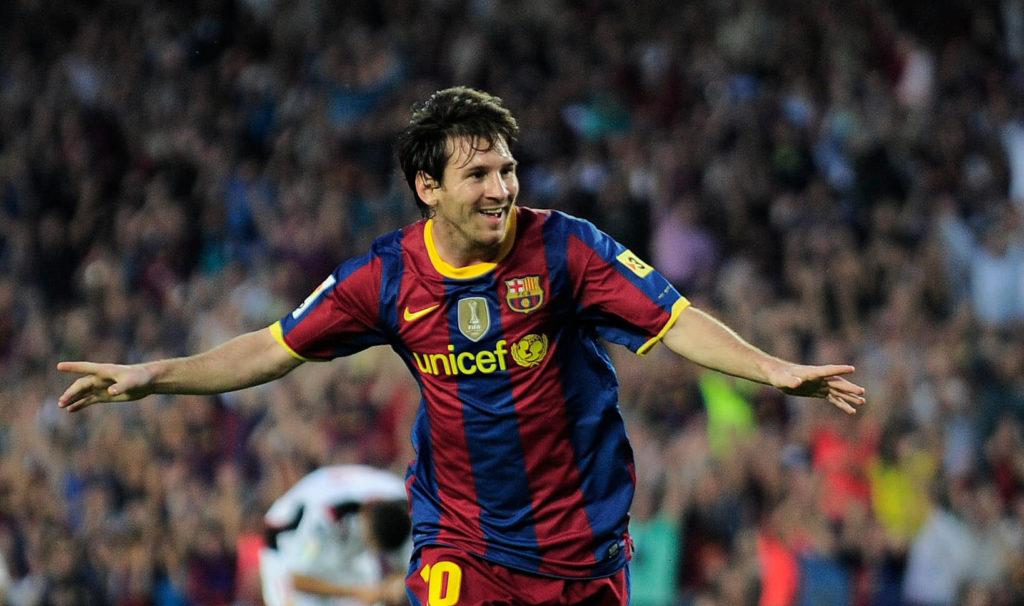 Mit 23 Jahren hatte Lionel Messi bereits 127 Tore für Barcelona geschossen. Foto: Getty Images
