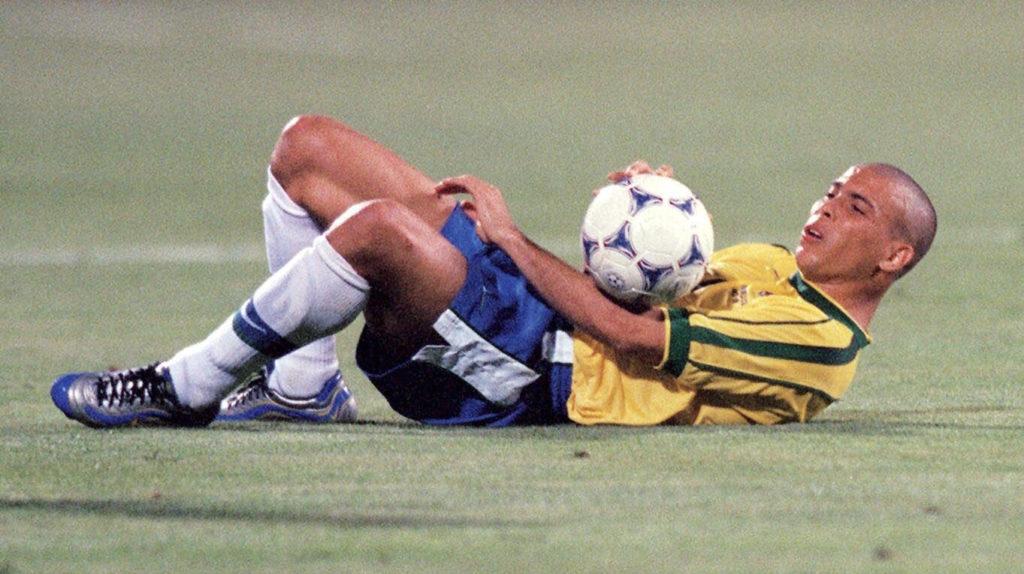 Ronaldo hatte bis zu seinem 23. Lebensjahr bereits unglaubliche 197 Tore für seine Vereine erzielt. Foto: Getty Images