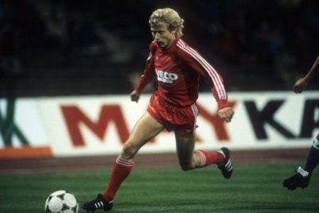 Karl del Haye spielte nur selten für den FC Bayern.