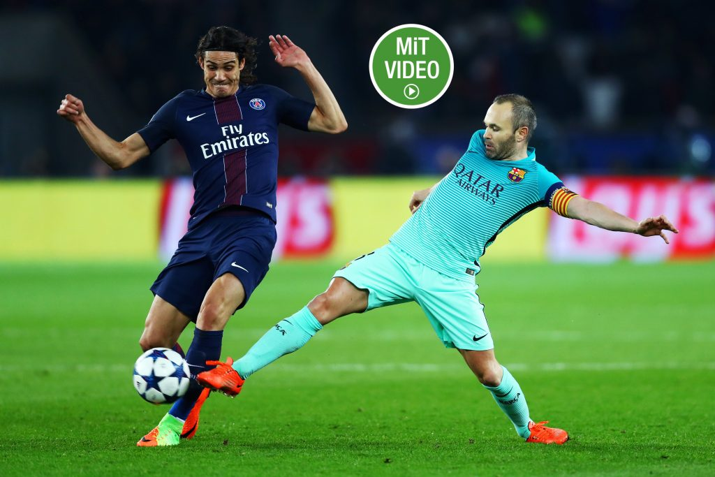 Ohne rote Karte bis zum Ende der Saison 2017/18 - Andres Iniesta. (Photo by Clive Rose/Getty Images)