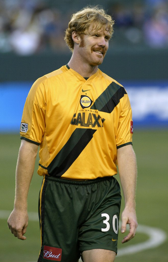 Alexei Lalas - Los Angeles Galaxy (Photo by Stephen Dunn/Getty Images)