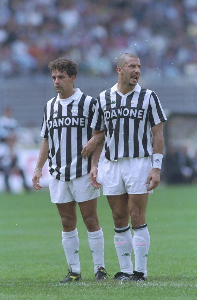 Gianluca Vialli mit Juve 1995/906 schon: Foto: Getty Images