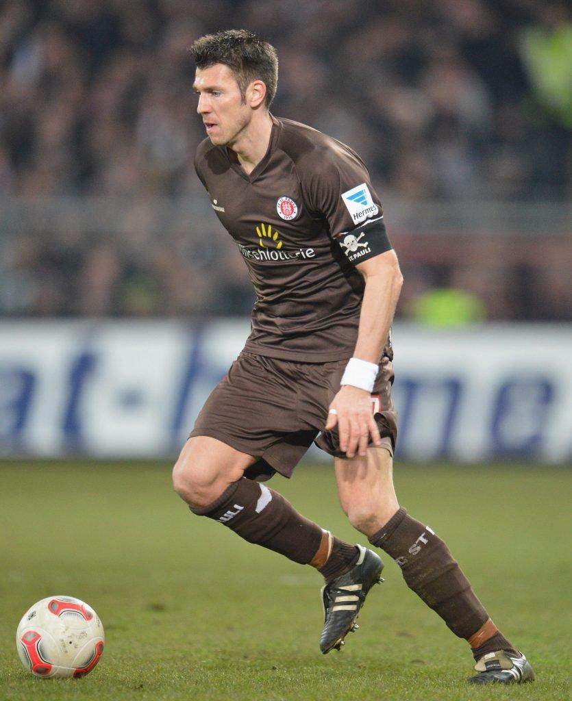 Fabian Boll beim FC St. Pauli. Foto: Getty Images