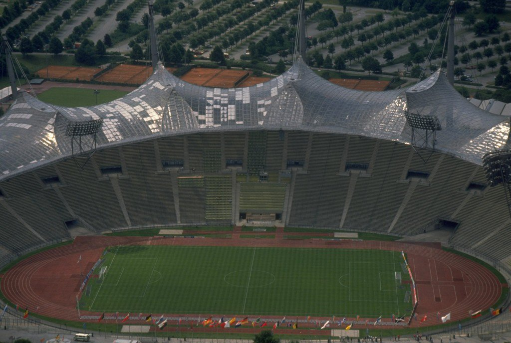 Das Olympiastadion. Mandatory Credit: David Cannon/Allsport