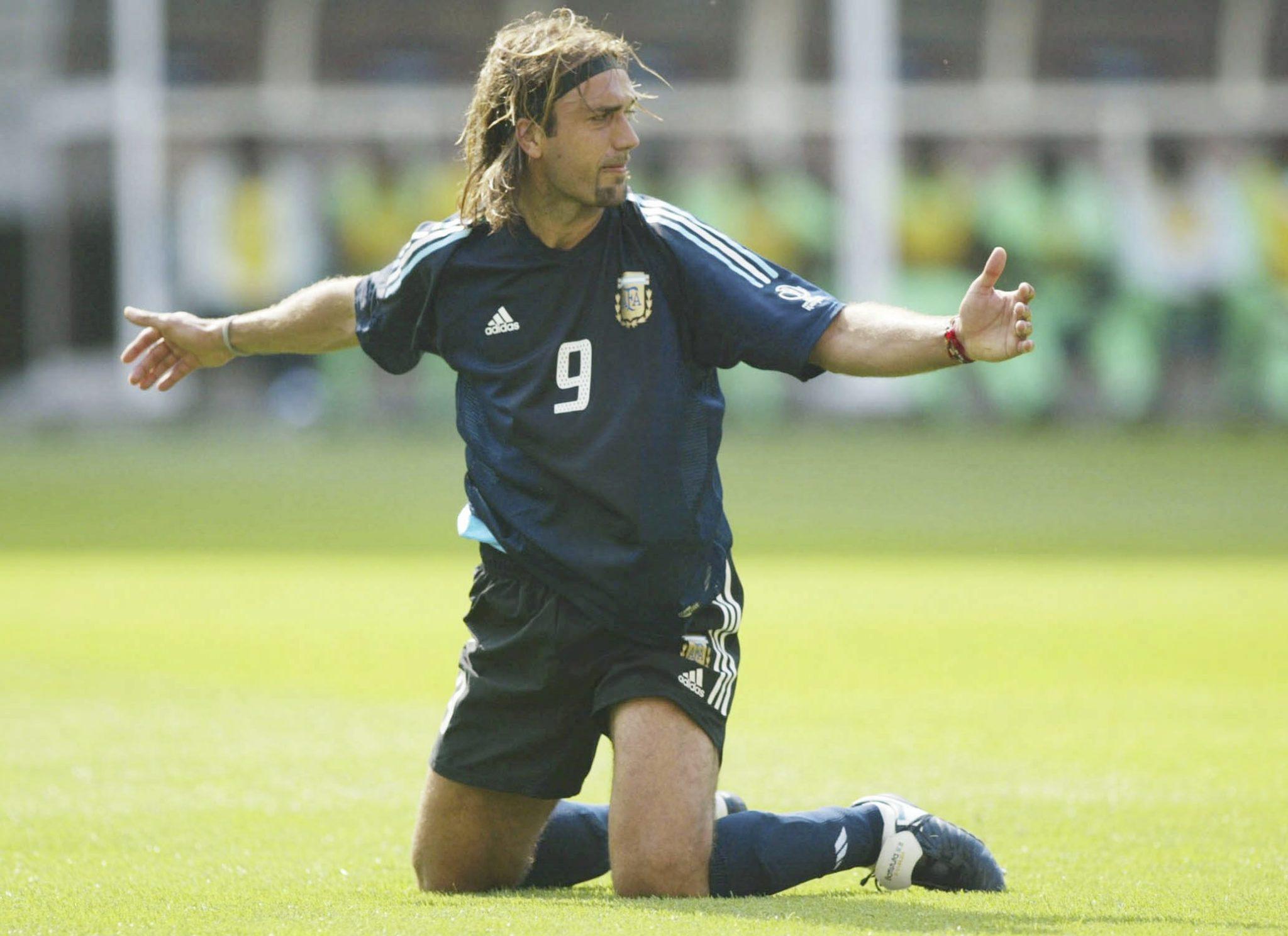Gabriel Batistuta - Batigoal. Foto: Getty Images