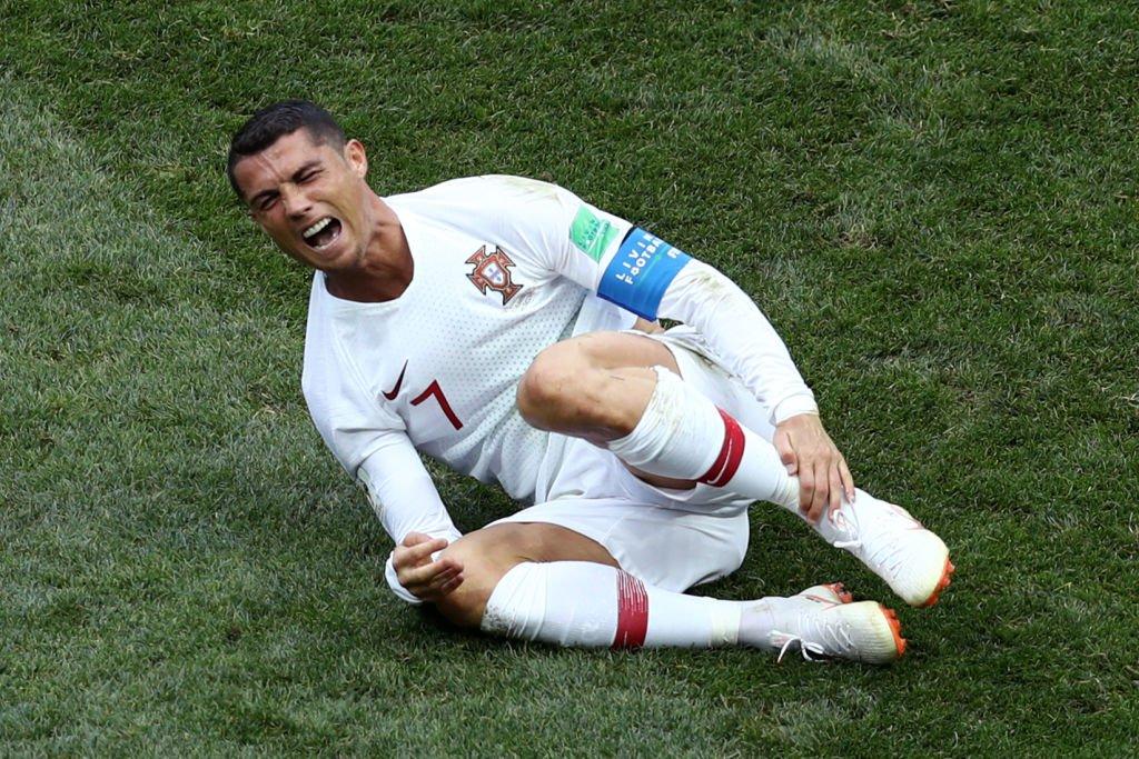 Cristiano Ronaldo = CR7. Foto: Getty Images