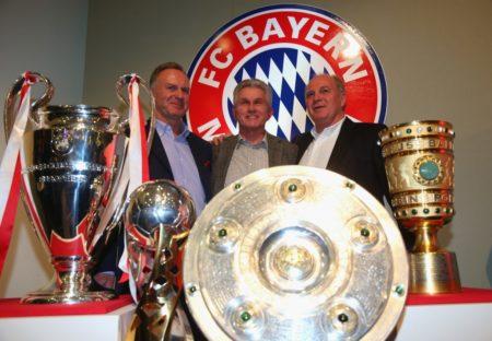 FC Bayern Heynckes Hoeneß