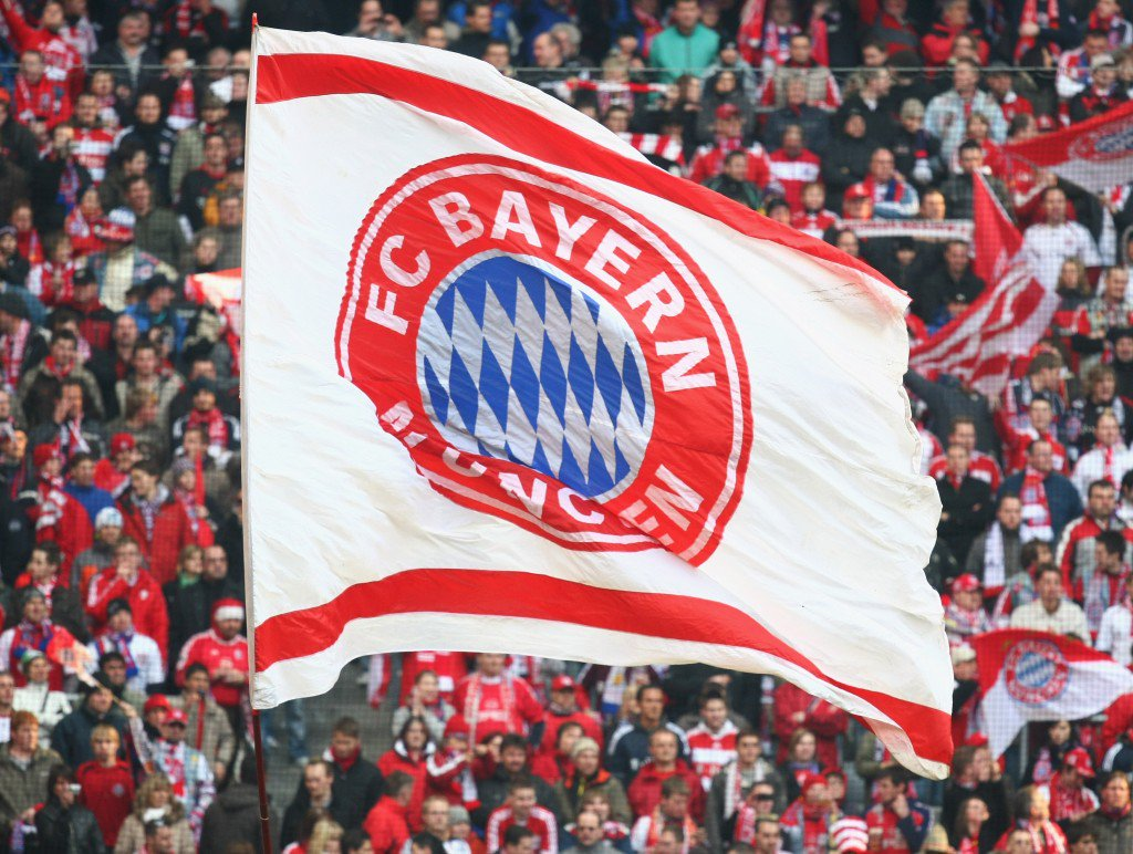 MUNICH, GERMANY - MARCH 21: Bayern Muenchen supporters are seen during the Bundesliga match between FC Bayern Muenchen and Karlsruher SC at the Allianz Arena on March 21, 2009 in Munich, Germany. (Photo by Alexander Hassenstein/Bongarts/Getty Images)
