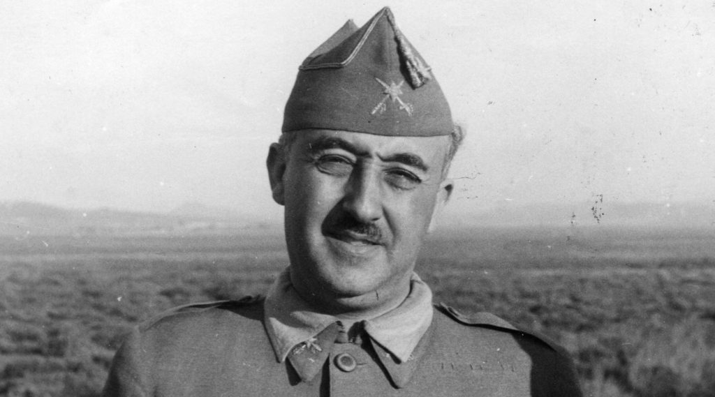 Der spanische Diktator Franco. Foto: Getty Images