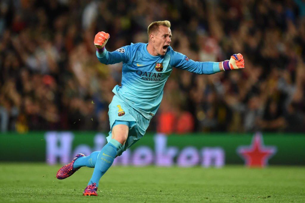 Am Ziel der Fußballträume: Marc-André ter Stegen holte mit dem FC Barcelona 2015 in Berlin die Champions League.