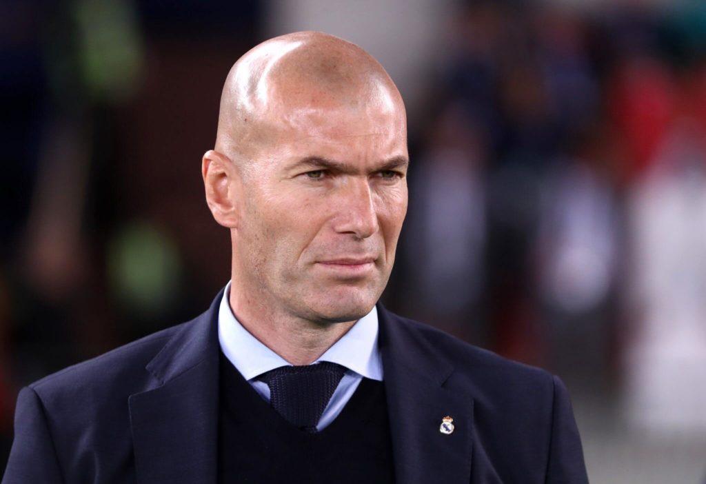 Wie andere Trainer auch, raucht Zidane ab und an. Foto: Getty Image