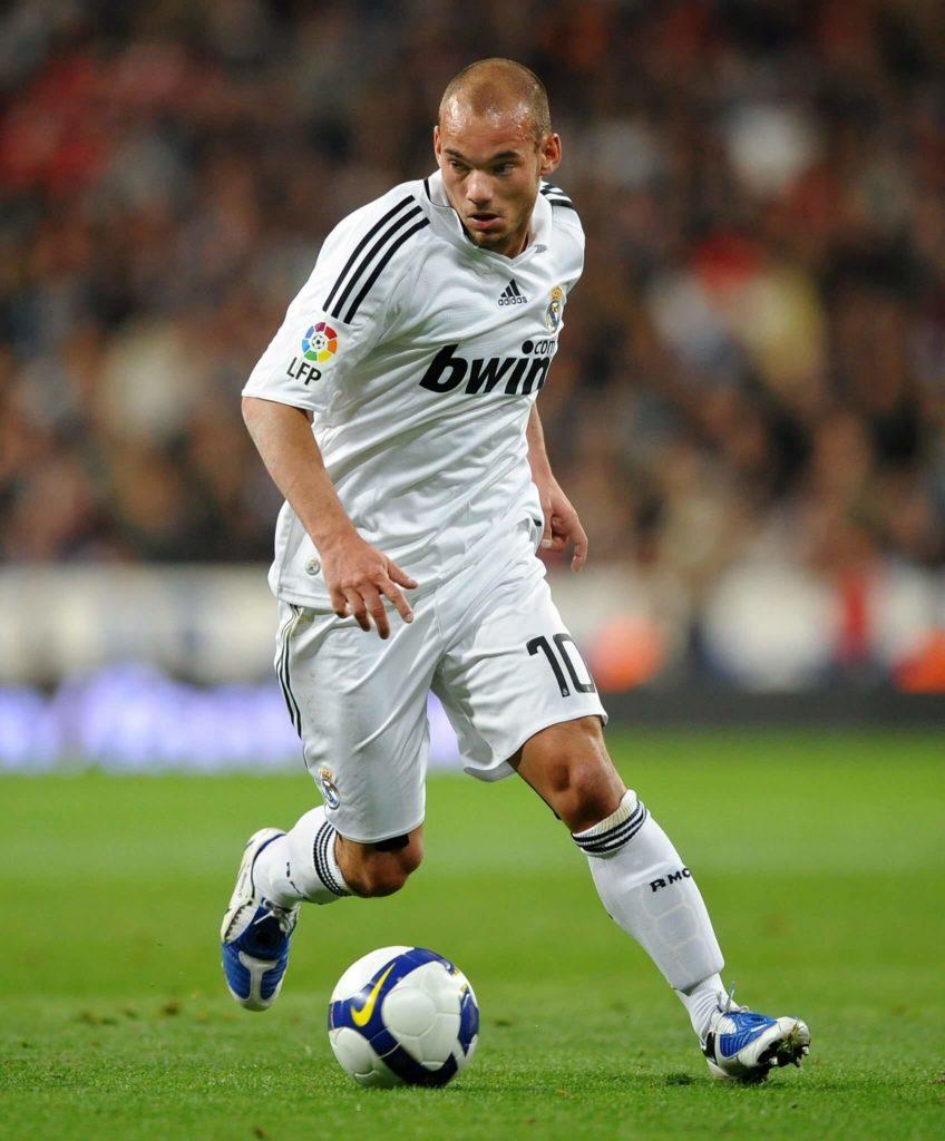Wesley Sneijder wechselte mit 23 Jahren von Ajax Amsterdam zu Real Madrid. Foto: Getty Images