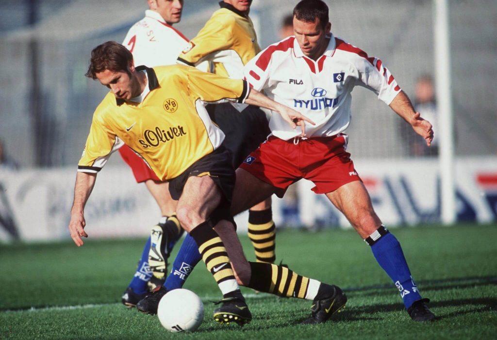 Barbarez traf in 36 Spielen für Dortmund sechsmal. Foto: Getty Images