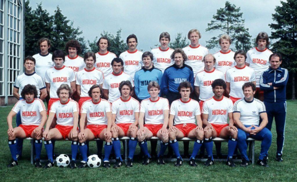 Die HSV-Mannschaft im Jahre 1978. Foto: Getty Images