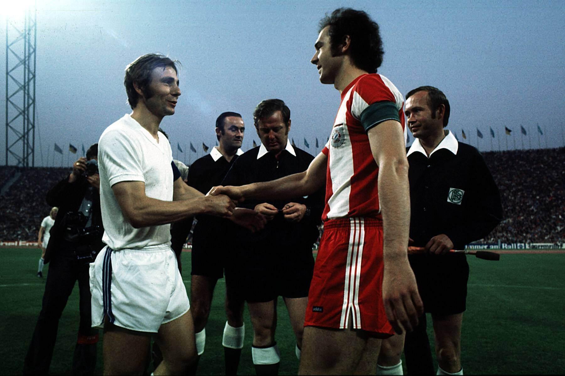 Reinhard Libuda (links) war - genauso wie Franz Beckenbauer - eine prägende fußballerische Figur seiner Zeit. Foto: Imago