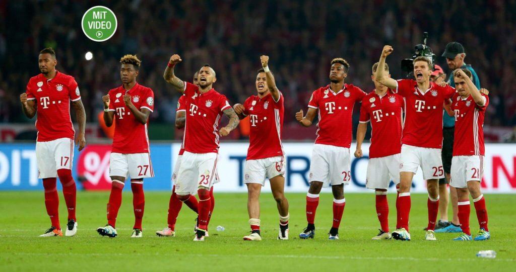 Die Spieler des FC Bayern dürfen oft jubeln. Foto: Getty Images