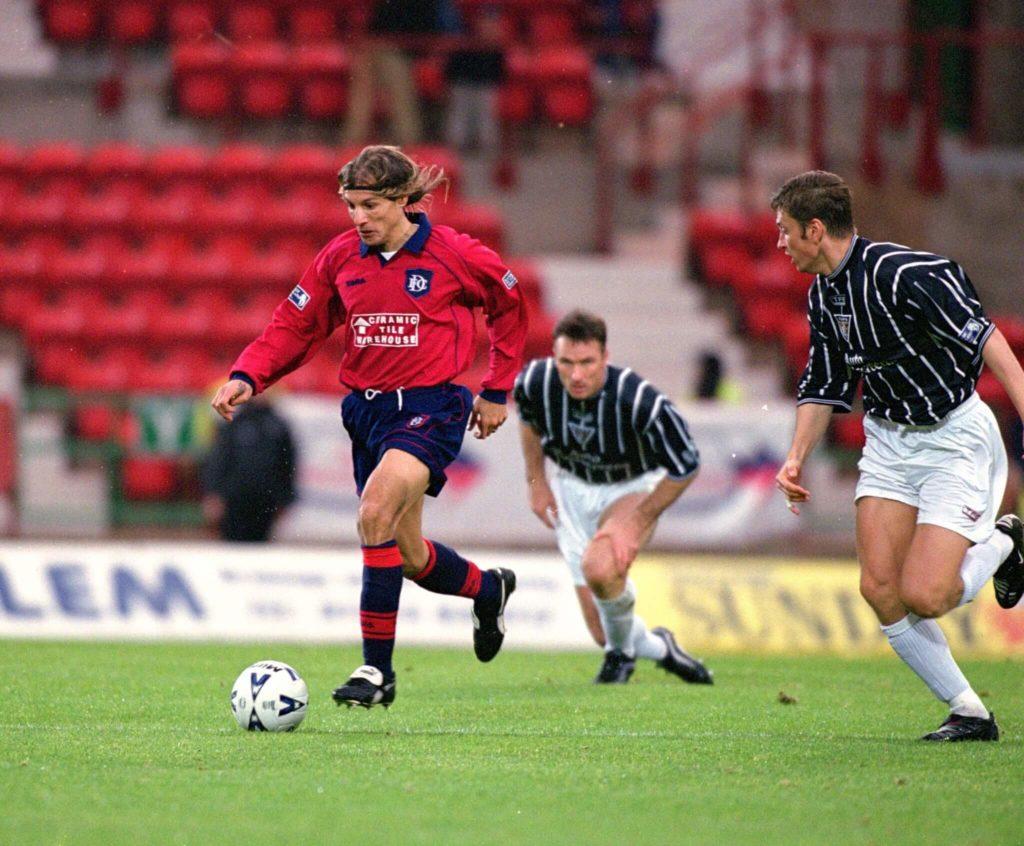 Claudio Caniggia wechselte einst zum FC Dundee. Foto: Allsport