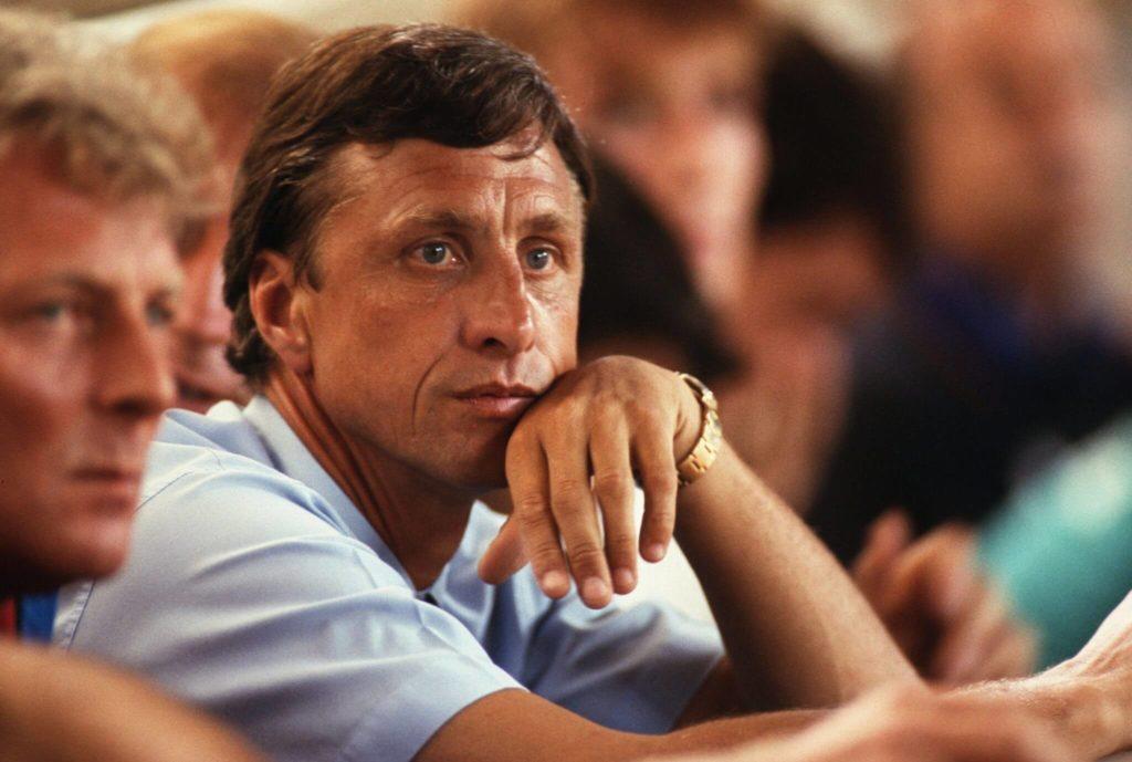 Johan Cruyff war einer der ersten großen Weltstars. Foto: Getty Images