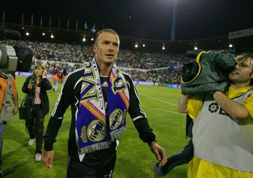 David Beckham brachte Real Madrid einen satten Verlust ein. Foto: Getty Images
