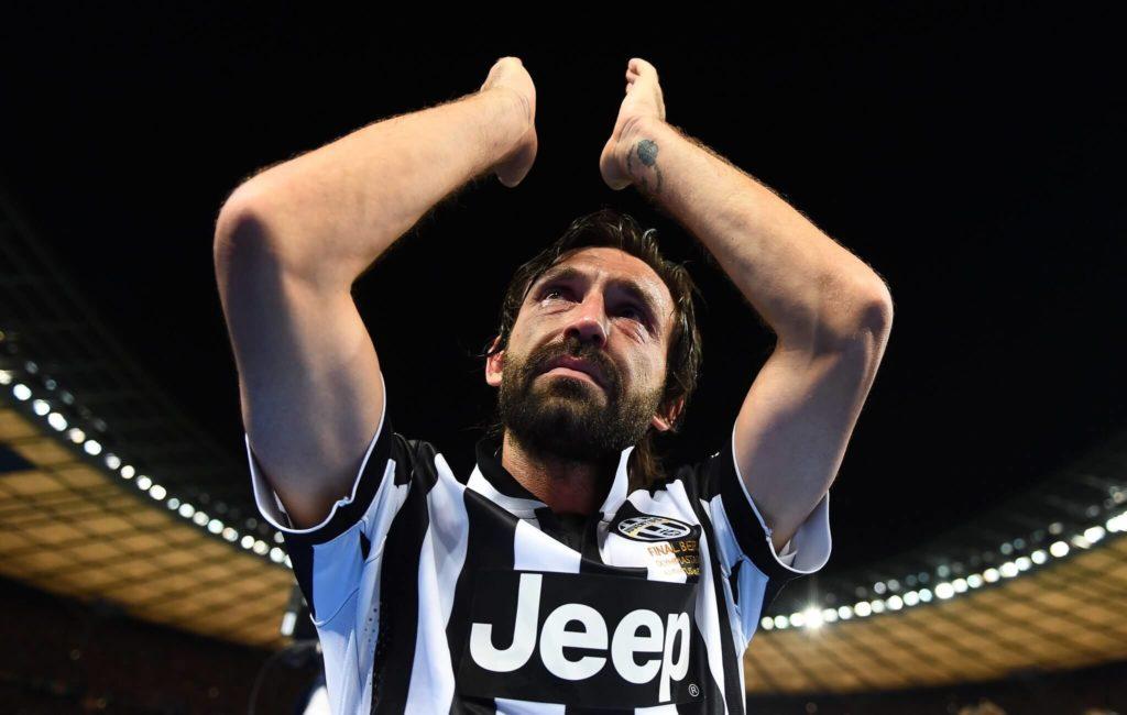 In der Saison 2011/12 wurde Andrea Pirlo zum Leistungsträger und gewann unter Trainer Antonio Conte seinen dritten italienischen Meistertitel. Foto: Getty Images