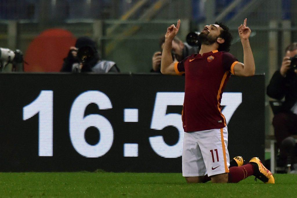 Mohamed Salah, hier noch im Dress des AS Rom. Foto: Getty Images