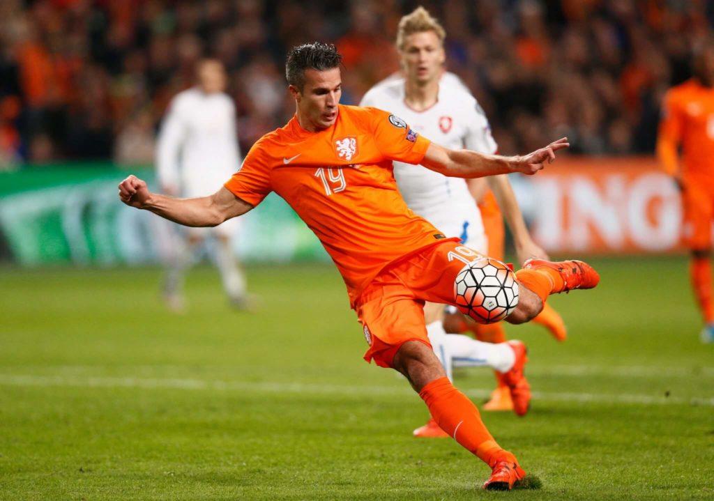 Der holländische Nationalspieler Robin van Persie soll nach seiner Hochzeit 2004 zum Islam übergetreten sein. Foto: Getty Images