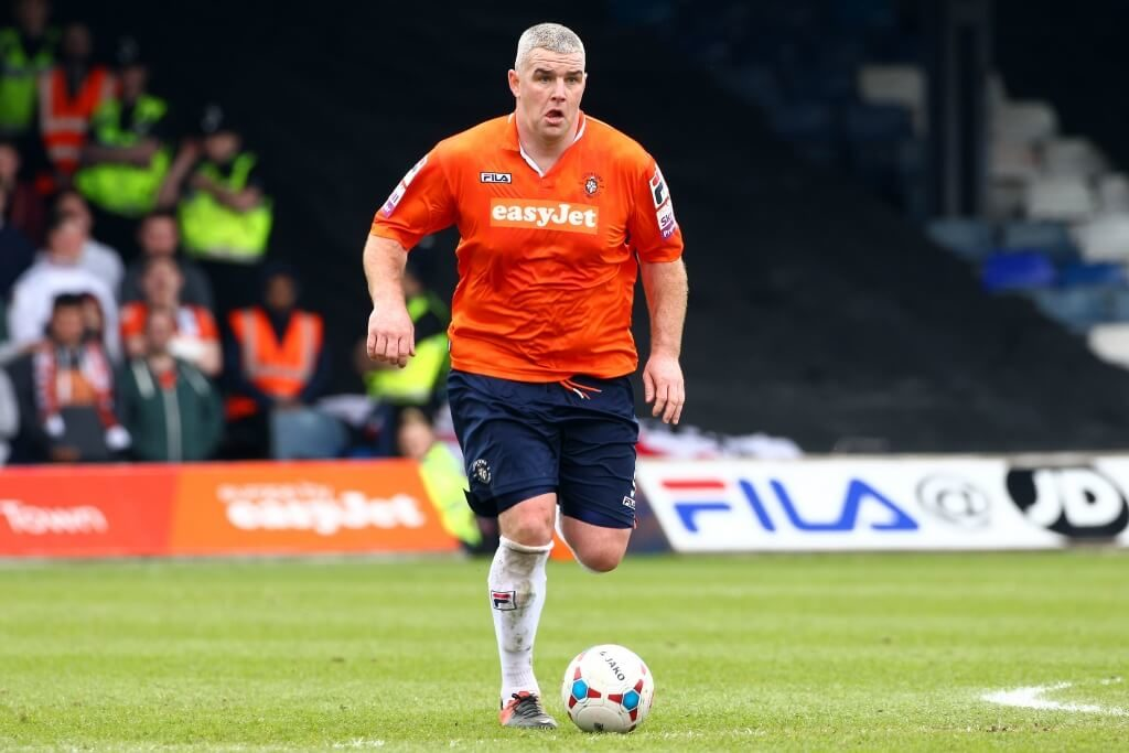 Steve McNulty - Professional football - that just looked wrong.