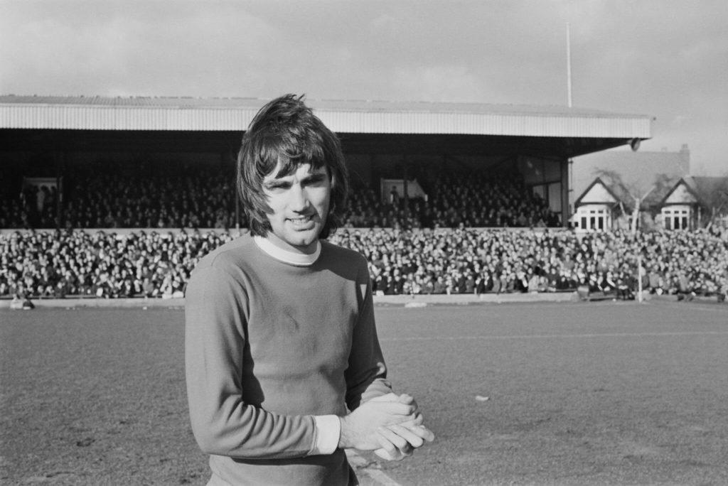 George Best, einer der größten englischen Fußballer aller Zeiten. Foto: Getty Images