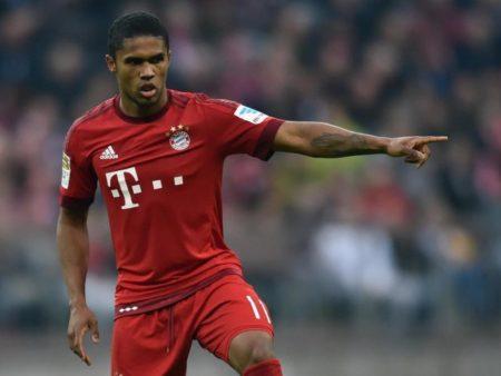Douglas Costa fehlte den Bayern gegen Hertha BSC.
