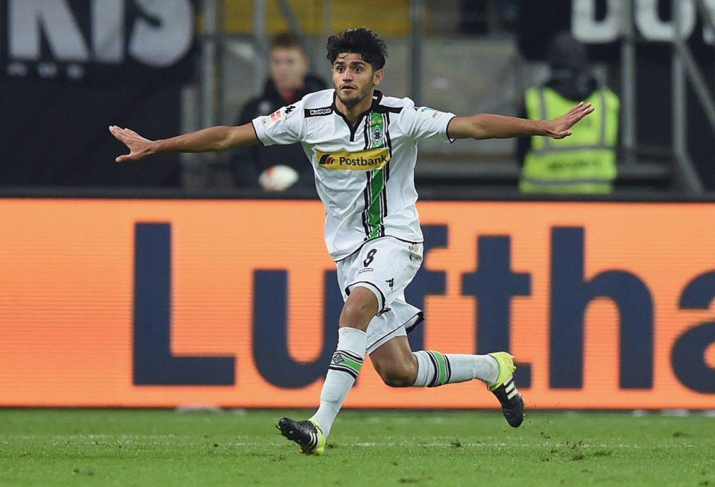 Mo Dahoud nach seinem Tor gegen den 1. FC Köln.