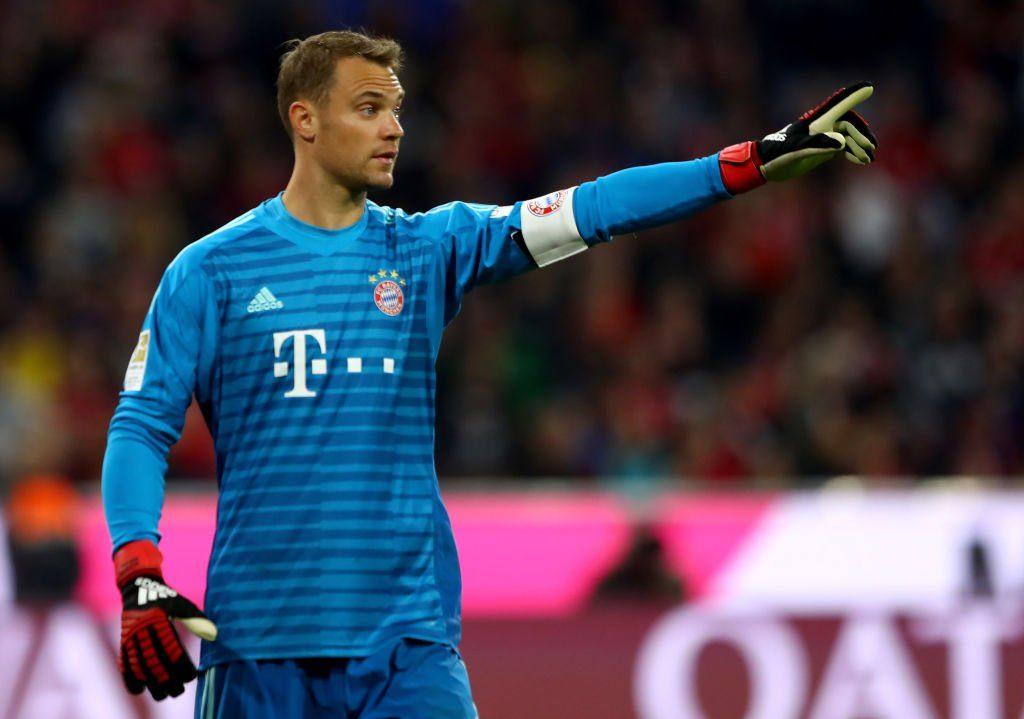 Manuel Neuer im Trikot von Bayern München (Photo by Martin Rose/Bongarts/Getty Images)