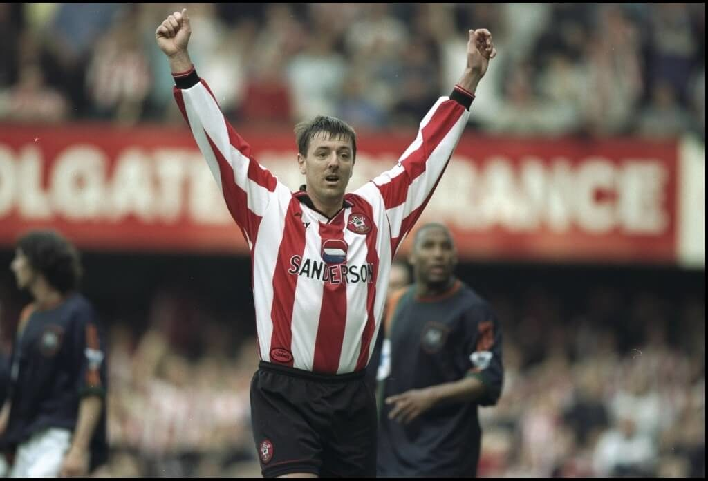With a bit more training and discipline Matt Le Tissier could have become one of the best English soccer players.