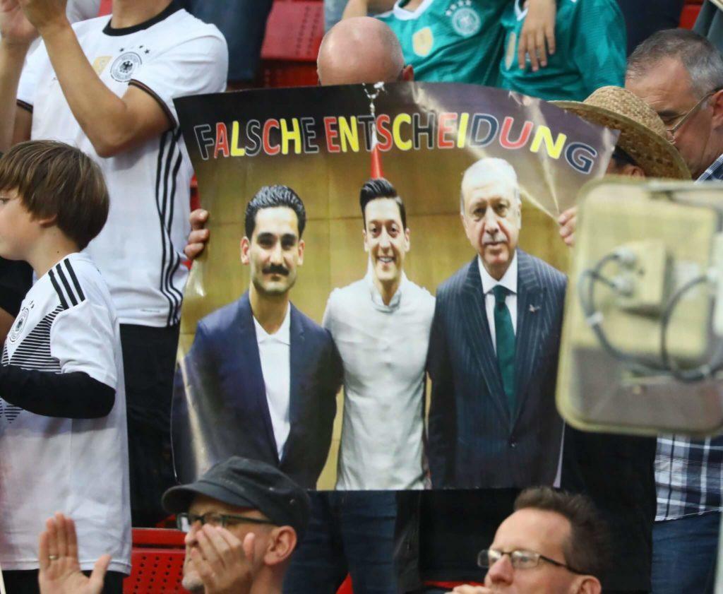 Das Treffen Özil, Gündogan, Erdogan führte zu heftigen Reaktionen; Foto: Imago