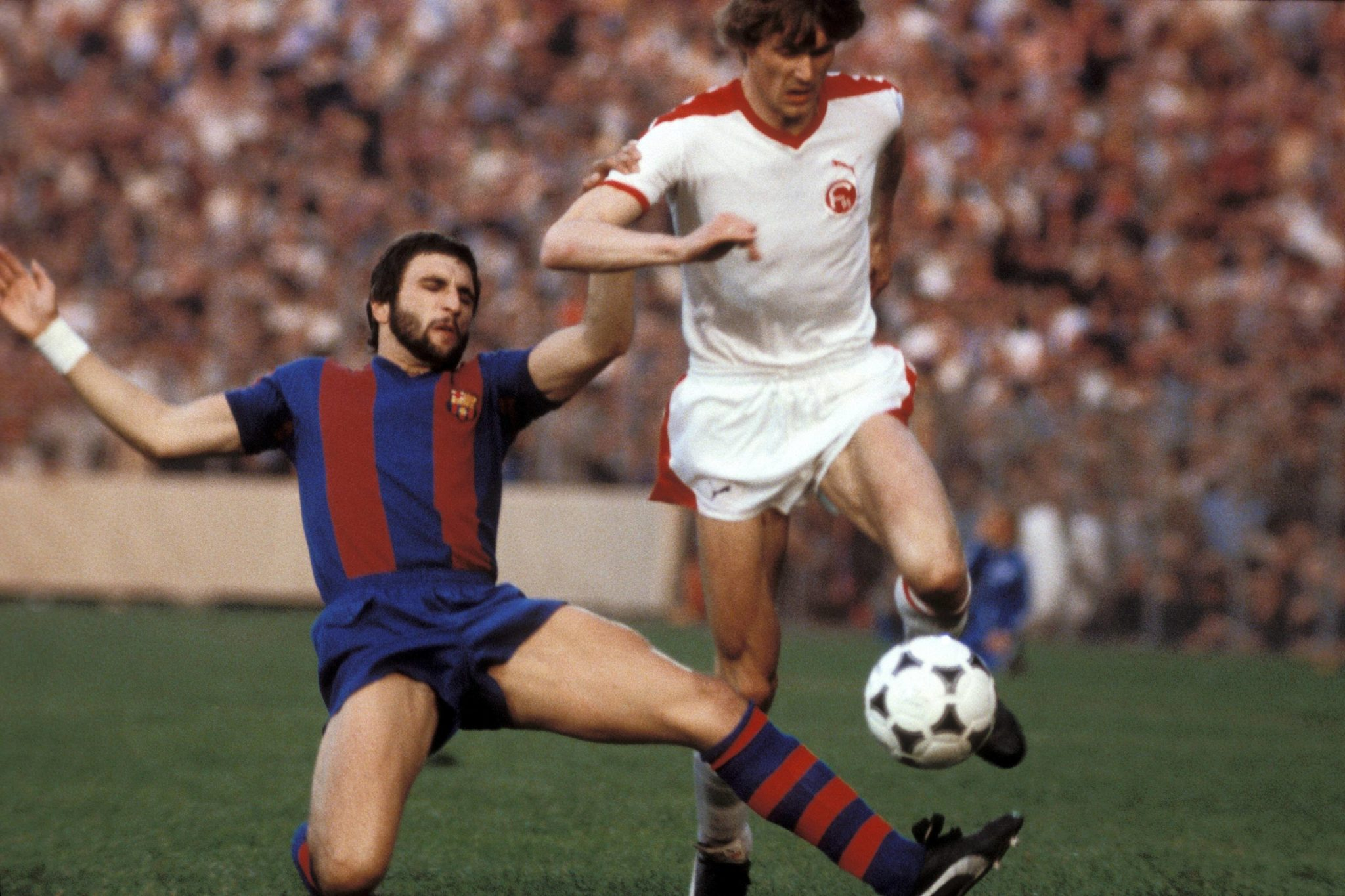 The first year with barca was hist best - Hans Krankl.
