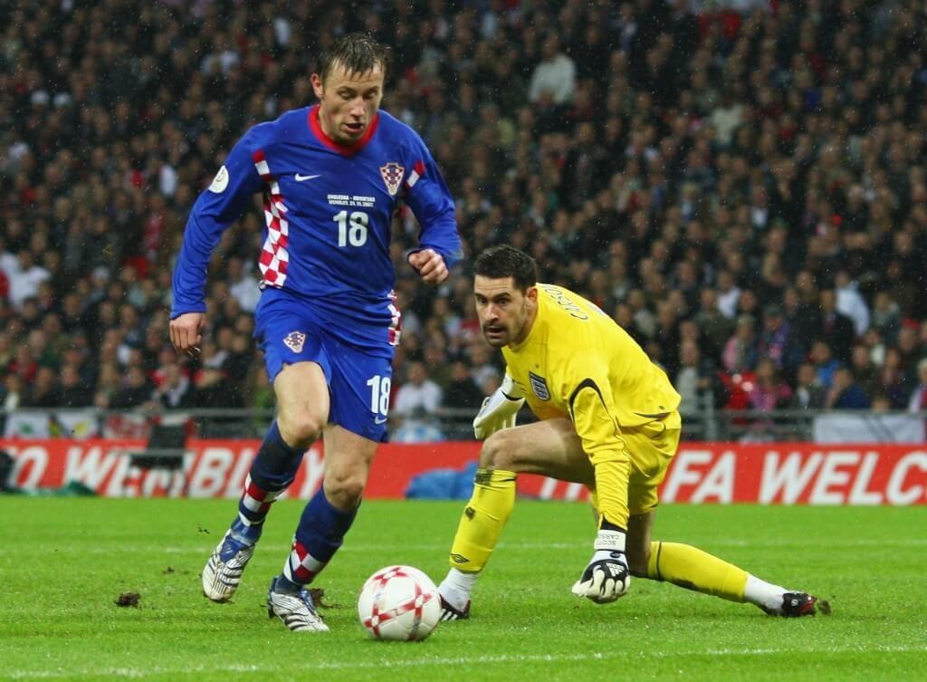 Scott Carson reiht sich nahtlos ein in die Historie der Chaos-Keeper der englischen Nationalmannschaft. Foto: Getty Images