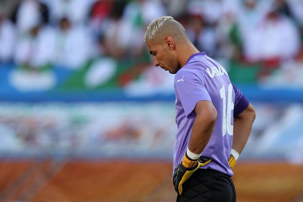 Im Dress der algerischen Nationalmannschaft absolvierte Chaouchi zwischen 2008 und 2010 elf Länderspiele. Foto: Getty Images