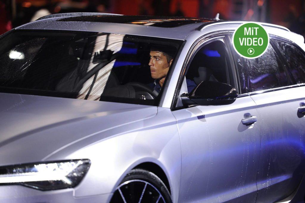 Ronaldo fährt einen Bugatti Veyron Grand Sport Vitesse. Foto: Getty Images