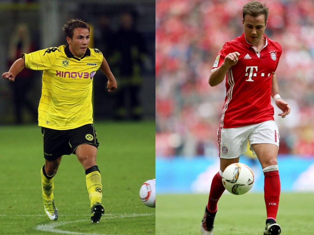Mario Götze (Dortmund zu Bayern) – Guardiolas Problemspieler. Foto: Getty Images