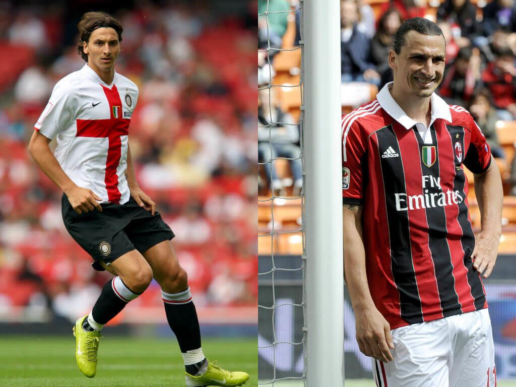 Zlatan Ibrahimovic (Inter Mailand zu AC Mailand) – Die Meinung anderer interessiert ihn nicht. Foto: Getty Images